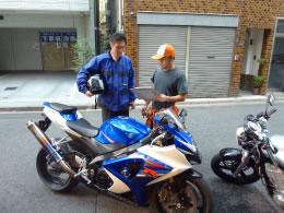 バイク買取り1