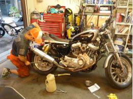 バイク車検・整備1