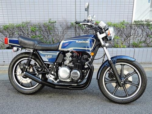 カワサキ Z400FX (438.0万円)
